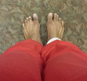 feet apart